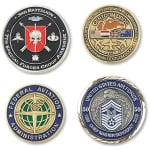 logoed Challenge Coin