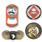 logoed Challenge Coins