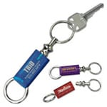logoed Detatchable Key Tags