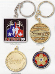 logoed Key Chains and Medals