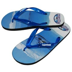 logoed Riviera Full Color Flip Flop
