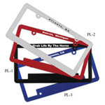 logoed License Plate Frames