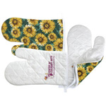 logoed Oven Mitts