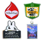 logoed Photo Pins Imported