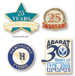 logoed Recognition Award Pins