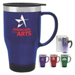 logoed Travel Mugs