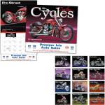 logoed Motorcycle Calendars
