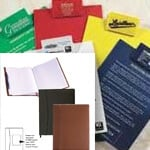 logoed Clipboards padfolios promotional products