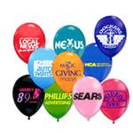 logoed Balloons - Laytex