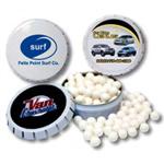 logoed Breath Mint Tins