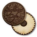 logoed cookies