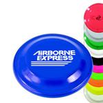 logoed Frisbees