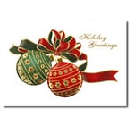 logoed holiday cards