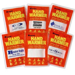 health logoed Hand Warming Packs