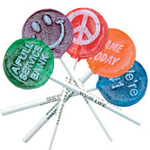 logoed Lollipops