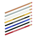 Pencils with logos
