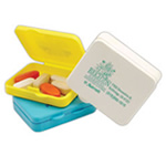 health logoed Pill Boxes