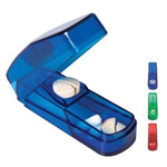 health logoed pill cutters