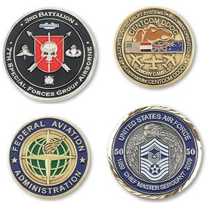 Brass Challenge Coins - Lynmar com Promotional Products