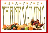 Plenty of Thanksgiving Cards