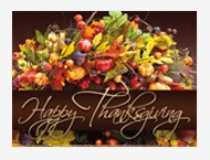 2018 thanksgiving cards