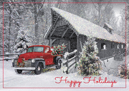Happy Trails Holiday Cards Item No. H09611